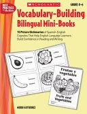 Vocabulary Building Bilingual Mini Books
