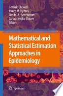 Mathematical And Statistical Estimation Approaches In Epidemiology
