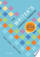 The Writer s Harbrace Handbook  2016 MLA Update