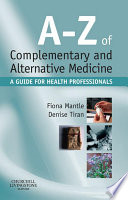 A Z Of Complementary And Alternative Medicine E Book