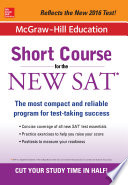 McGraw Hill Education  Short Course for the SAT
