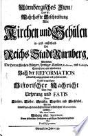 Nürnbergisches Zion