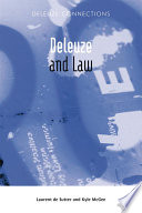 Deleuze And Law book