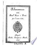 Almanacco della real casa e corte  delle due Sicilie
