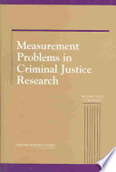 Measurement Problems in Criminal Justice Research