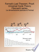 Fermat S Last Theorem Proof Universal Cycle Theory Fibonacci Series  book