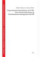 Organisationskommunikation und CSR