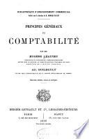 Principes  Generaux de Comptabilite