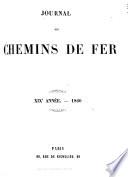 Journal des chemins de fer, des mines et des travaux publics