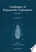Catalogue of Palaearctic Coleoptera