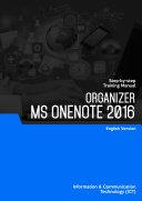Organizer - Ms OneNote 2016