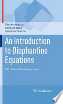 An Introduction to Diophantine Equations