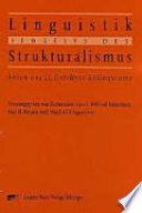Linguistik jenseits des Strukturalismus