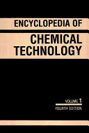 Kirk Othmer Encyclopedia of Chemical Technology  A to Alkaloids
