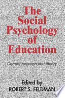 illustration The Social Psychology of Education, Current Research and Theory