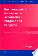 Environmental Management Accounting     Purpose and Progress