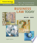 Cengage Advantage Books Business Law Today The Essentials book