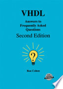 VHDL Answers to Frequently Asked Questions To The Author S Book Vhdl Coding Styles And