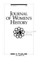 Journal of Women's History