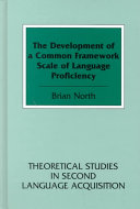 The Development of a Common Framework Scale of Language Proficiency