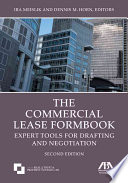 The Commercial Lease Formbook