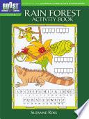 Rain Forest Activity Book