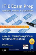 ITIL Exam Prep Questions  Answers and Explanations