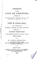 Panorama of the City of Chester