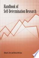 Handbook of Self determination Research
