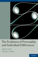 download ebook the evolution of personality and individual differences pdf epub