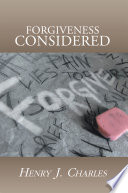 Forgiveness Considered book
