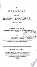 A Grammar of the Danish Language