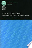 Fiscal Policy and Management in East Asia