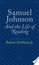 download ebook samuel johnson and the life of reading pdf epub