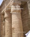 How to Read Egyptian Hieroglyphs