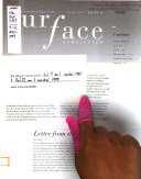 Surface Newsletter
