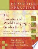 The Essentials of World Languages, Grades K-12
