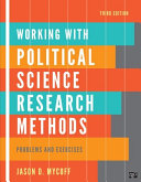 Working with Political Science Research Methods