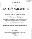 Atlas de géographie ancienne et moderne