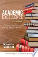 Academic Excellence Devotional