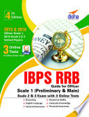 IBPS RRB Guide for Officer Scale 1  Preliminary   Main   2   3 Exam with 3 Online Tests 4th Edition