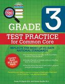 Barron S Core Focus Grade 3 Test Practice For Common Core