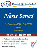 Pre Professional Skills Test  Writing  Practice Test