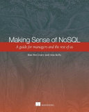 Making Sense of NoSQL Book Cover