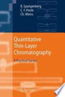 Quantitative Thin Layer Chromatography