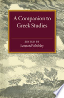 A Companion to Greek Studies