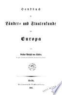 Handbuch der physischen Geographie
