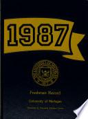 Freshman Record, the University of Michigan