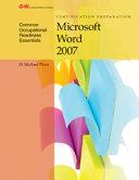 Certification Prep Microsoft Word 2007