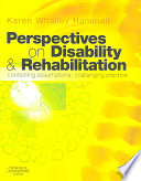 Perspectives on Disability   Rehabilitation